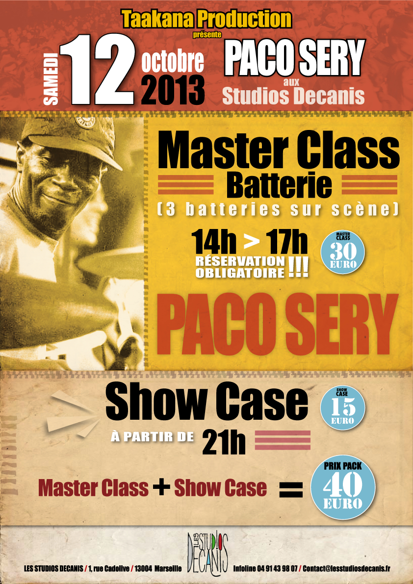 Master Class PACO SERY